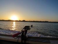 2014年11月30日長井港の日の出