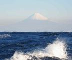 2014年12月23日石花海からの富士山