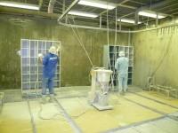工場 ロッカー塗装