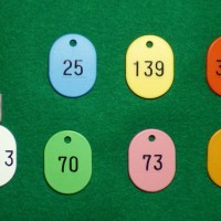 番号札(ナンバープレート)