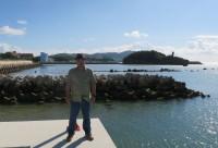 2015年11月24日久米島漁港にて