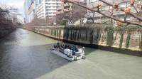 2016年3月27日目黒川の桜船