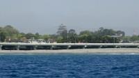2015年5月15日沖からの小田原城2