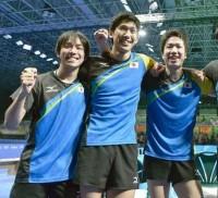 卓球男子銀メダル1