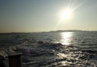 2018年3月25日沖からの城ヶ島